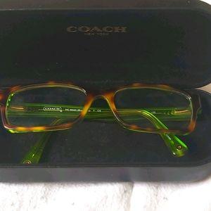 💝COACH HC6040(TORTOISE/GREEN)GLASSES